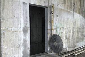Резка дверных проёмов