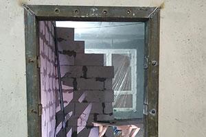 Усиление дверных проемов